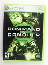 Command & Conquer 3: Tiberium Wars (Microsoft Xbox 360, 2007) Complete T... - $9.95