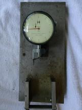 HEAVY BASE HAMILTON WATCH COMPANY MODEL 3150-01 STARRETT NO. 671 DIAL IN... - $195.00