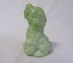 Boyd Art Glass Skippy The Dog #34 Seafoam Green B In Diamond Figurine - $7.99