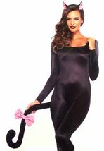 Leg Avenue Darling Kitty Kit Headband Tail Bow Sexy Halloween Costume 37... - $3.39