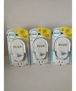 Lot 3X Febreze Plug In Scented Oil Warmer Starter Kit Light Alternating - $16.49
