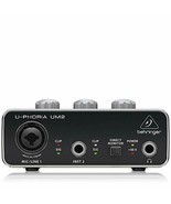 BEHRINGER UM 2 USB Audio Interface FREE shipping Worldwide - $1.863,21 MXN