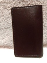 Fashion Practical Leather Business Credit ID Card Holder Case Wallet Dar... - $8.86