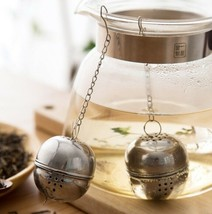 1PC New Stainless Steel Ball Tea Infuser Mesh Filter Spice  Kitchen Acce... - $5.89