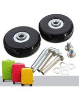 Luggage Suitcase Replacement Wheels Suitcase Repair OD 50mm Axles Deluxe... - $11.98