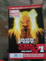 Iron Fist the Living Weapon 1: Rage Marvel Now Andrews, Kaare Good - $5.93