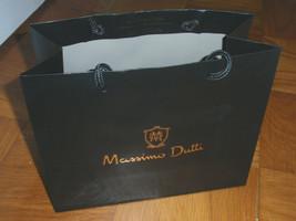 MASSIMO DUTTI Gift Shopping Bag Sack - Size 9 1/2 x 11 3/4 x 5 - $3.50