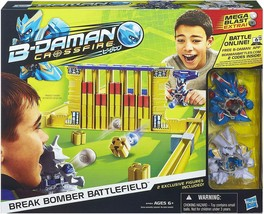 B-Daman Crossfire Break Bomber Battlefield Set  Discontinued New with 2 ... - $35.52