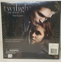 Twilight The Movie Board Game 2009 New Factory Sealed Cardinal Ages 10+ 2-8 Plys - $32.13