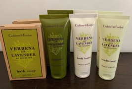 Lot of 8 Crabtree & Evelyn Shampoo Conditioner Verbena Lavender Travel S... - $15.83
