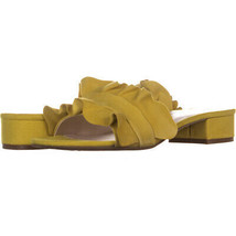 A35 Monah Slide On Sandals 202, Yellow, 9.5 US - $32.63