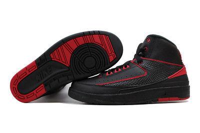 nike air jordan ii 2 retro black / squadra rossa e 50 oggetti simili