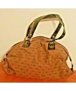 Liz Claiborne Purse Brown Double Handle Large With Logo - $19.79