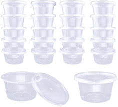 DOMIRE 4OZ Slime Containers with Lids Clear Storage Container for Slime ... - $25.47