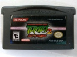 Teenage Mutant Ninja Turtles 2: BattleNexus (Nintendo Game Boy Advance, ... - $9.95