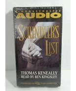 NEW - SEALED Schindler's List by Thomas Keneally (1993, 4  Cassettes) Je... - $4.89