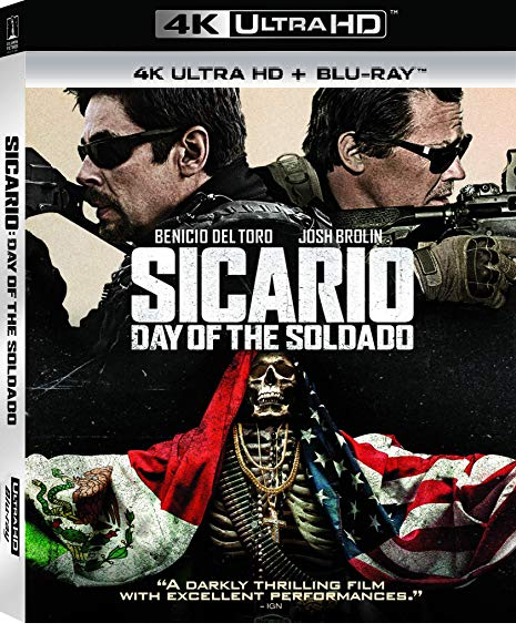 Sicario: Day of the Soldado [4K Ultra HD + Blu-ray]