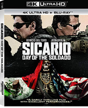 Sicario: Day of the Soldado [4K Ultra HD + Blu-ray] - $15.95
