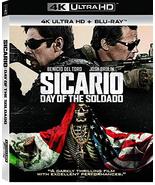 Sicario: Day of the Soldado [4K Ultra HD + Blu-ray] - $15.95