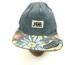 VANS Off The Wall Hawaiian Hat Blue Snapback Adjustable Floral Aloha Bill Adult - $15.81