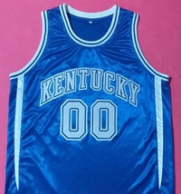 Tony Delk Kentucky Wildcats Blue College Jersey Any Size Free Wwjd Bracelet - $29.99