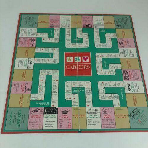 CAREERS Board Game Vintage 1965 Parker Brothers COMPLETE