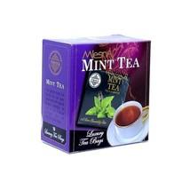 Mlesna Mint flavored Ceylon 10 tea bags - $4.85