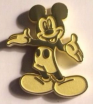 Mickey Mouse VIP Lapel Pin Anniversary Gold Tone Disney Movie Club Exclusive NEW - $23.99