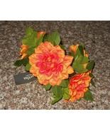 4 Martha Stewart Exotic Escape Flower Napkin Rings Holders NWT FREE SHIP... - $34.64
