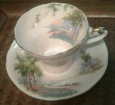 Aynsley Teacup and Saucer Pale Pink - $18.69