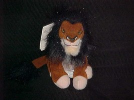 """8"""" Mini Scar Plush Bean Bag Toy With Tags From The Lion King The Disney ... - $32.71"""