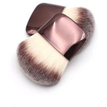 Makeup Brush Ultra Soft Flat Taklon Bristles Plastic Handles Wide Blush ... - $12.46