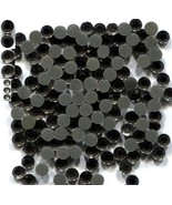 Rhinestones 2mm 6ss Black Diamond Color Hot Fix  1 gross - $3.25