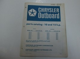 1976 77 Chrysler Outboard 10-15 H.P 102 159 HD HA FORTEMENT RECOMMANDÉ B... - $17.23