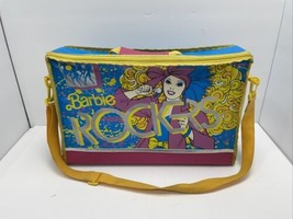 1986 Barbie And The Rockers Doll Travel/Storage Case - $31.67