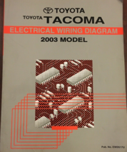 2004 Toyota TACOMA Electrical Wiring Diagram Manual EWD ETM Factory OEM  - $49.45