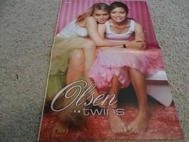 Mary Kate & Ashley Olsen teen magazine poster 1990 Vintage Clipping Full House