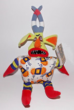 Trickster 5 Bean Bag Plush 14in Lion King Stage Show Disney Stuffed Animal Tags - $4.99