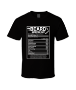Funny Beard Nutrition Facts T-shirt - $17.99+