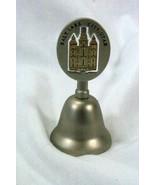 Pewter Salt Lake City Mormon Tabernacle Souvenir Bell - $5.66