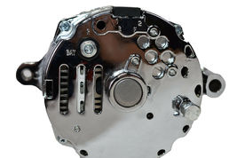 Chrome SB Ford 1G Style 110 AMP 1 Wire Alternator Mustang 289 302 351 V8 10SI V image 8