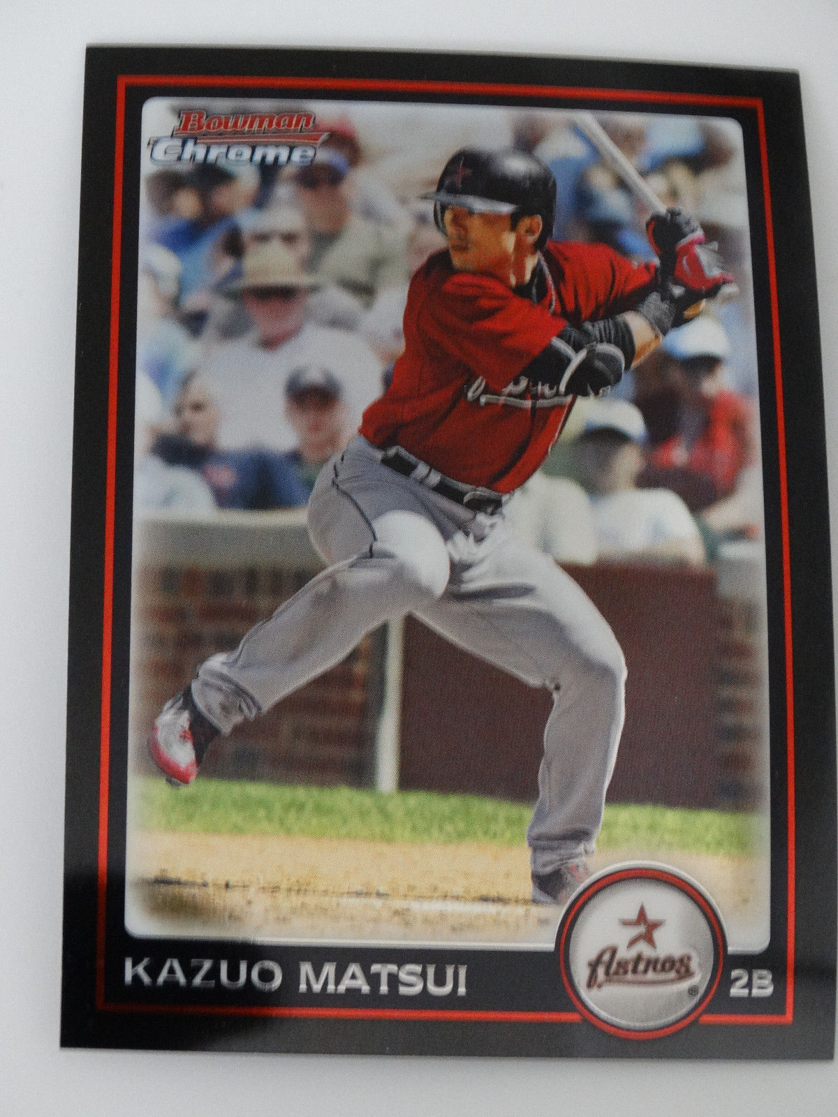 Primary image for 2010 Bowman Chrome #81 Kazuo Matsui Houston Astros Baseball Card