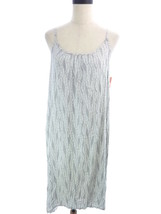 Womens Gilligan & O'Malley Gray Causual Swoop Chemise Dress NEW S M - $16.00