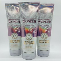 3-Pack Bath & Body Works Winterberry Wonder Moisturizing Body Wash 10 Fl.Oz - $29.65