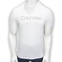 NWT CALVIN KLEIN AUTHENTIC MEN'S WHITE CREW NECK SHORT SLEEVE T-SHIRT SI... - £15.99 GBP