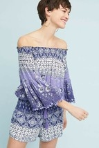 New Anthropologie Mazo Pommed Romper by Raga SMALL  - $44.55