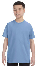 Jerzees Youth Heavyweight T-Shirt - 29B - Light Blue - $2.91