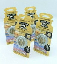 Lot of 4 Yankee Candle Co Sunset Breeze Classic Car Vent Clip Freshener ... - $18.04