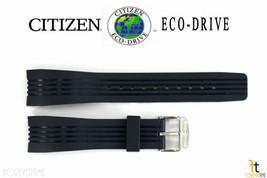 Citizen Eco-Drive BL5300-22A Bleu Montre Caoutchouc Bracelet S043417 S061865 - $66.23