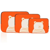 AllNewFrame Indifferent Bear iPad Laptop Protective Sleeve Pouch Bag Cover Case